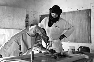 Students in the Sahrawi camps are also taught practical skills