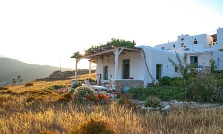 Traditional house at Κalderimi 'hotel'