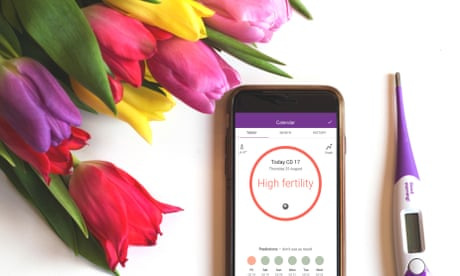 The Natural Cycles app uses a woman's body temperature to track her fertility.