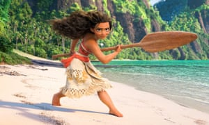 Well-honed narrative … Moana.