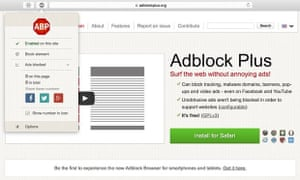 Nearly two thirds of those who have downloaded adblocking software said they had received a notice from a website asking them to turn the software off.