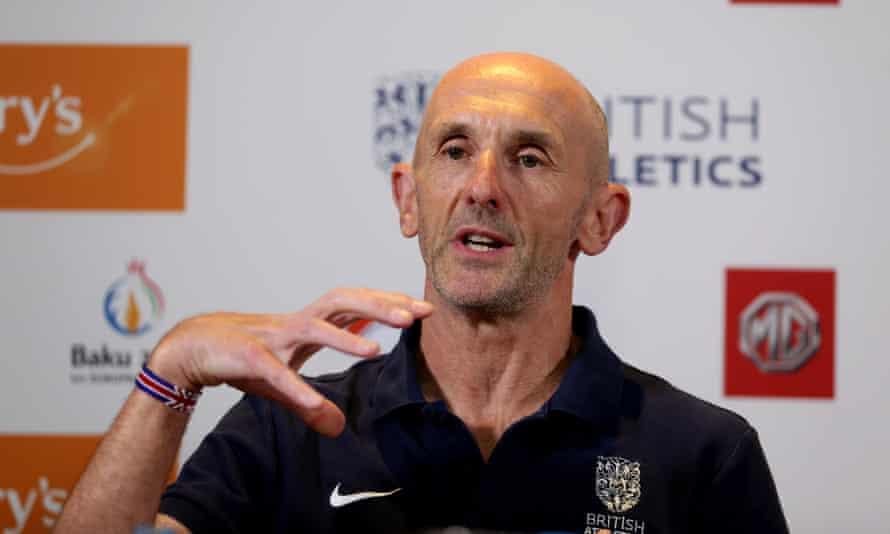 British Athletics' performance director, Neil Black