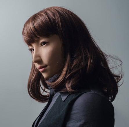 Maija Tammi's portrait of the android Erica.