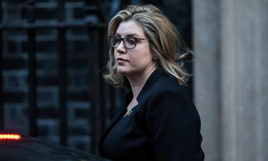 International Development Secretary Penny Mordaunt arrives for a Cabinet meeting at 10 Downing Street on October 9, 2018 in London