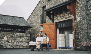 Catherine Connor and Aidan Monks of Lovingly Artisan