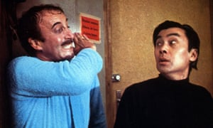 Burt Kwouk, right, was a regular co-star with Peter Sellers in the Pink Panther films, including Return of the Pink Panther, 1975.