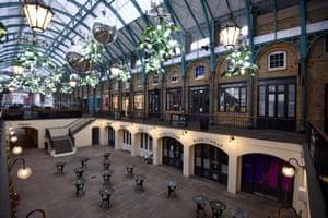 LondonA deserted Covent Garden market