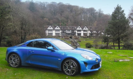 Alpine A110: 'The perfect car to escape to the country'