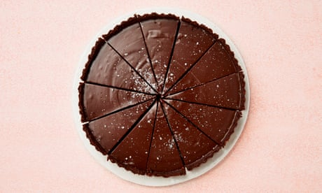Tamal Ray's recipe for chocolate fudge tart
