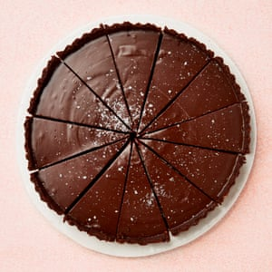 Tamal Ray's chocolate fudge tart