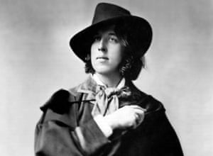 Oscar Wilde, pictured in 1882.