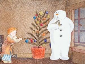 1982 film adaptation of Raymond Briggs's The Snowman