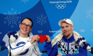 Antti Koskinen, snowboard head coach and snowboarder Roope Tonteri gave a news conference about the knitting on Valentine's Day