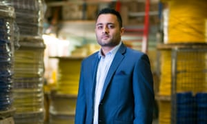 Saleem Dadabhoy's potential deportation would lead to the loss of 20 jobs, all held by British citizens.