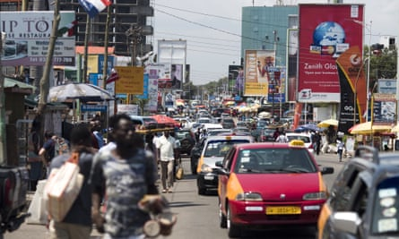 Cities such as Accra in Ghana can choose to focus on one of 10 healthy lifestyle issues, including curbing sugary drink consumption, air pollution, promoting exercise and and bans on smoking.