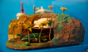Tracy Island, as made by former Blue Peter presenter Anthea Turner