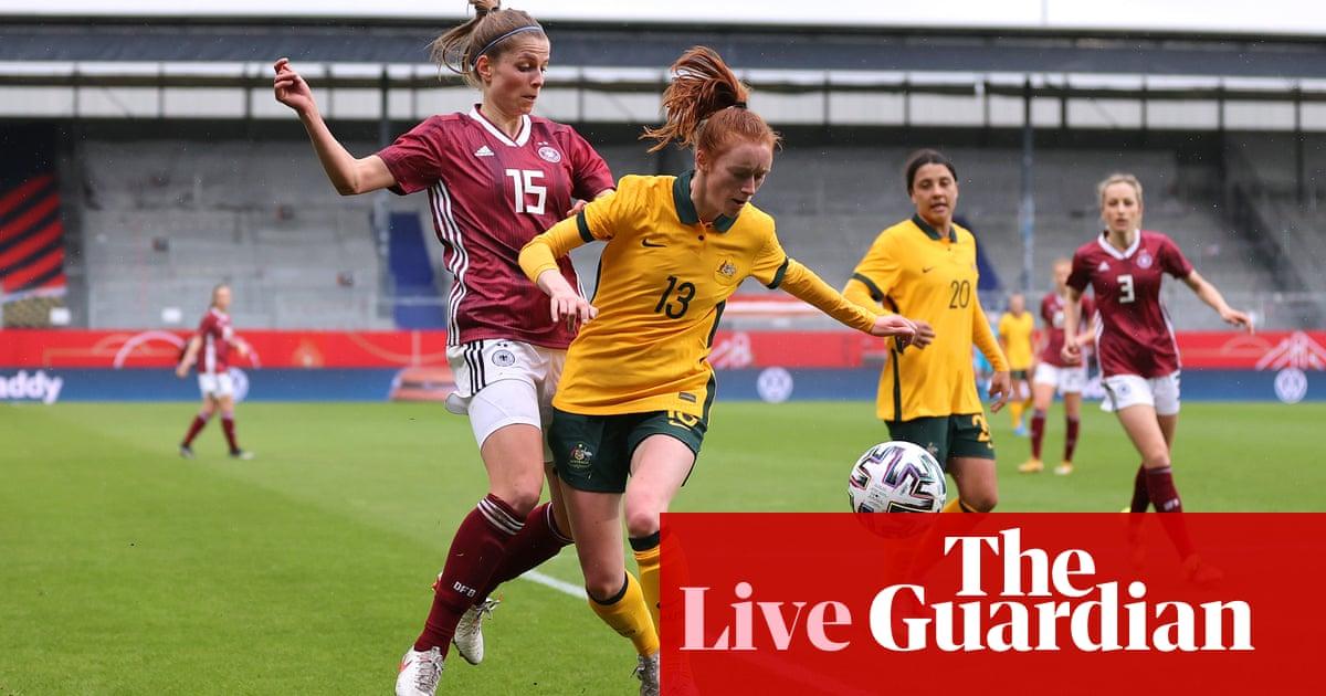 Germany v Australia: women's international football friendly – live! – The Guardian