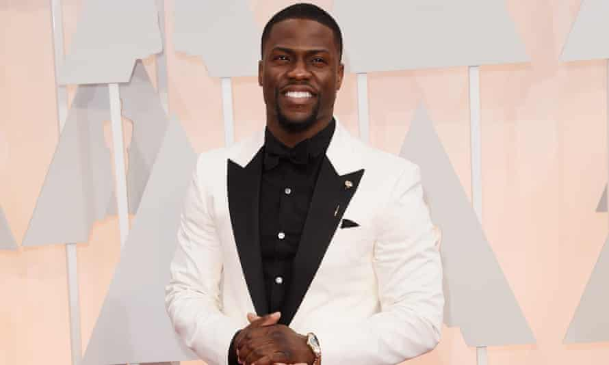 Kevin Hart in 2015. Why, when the Academy is desperate to show a more inclusive side would Hart seem an appropriate host?