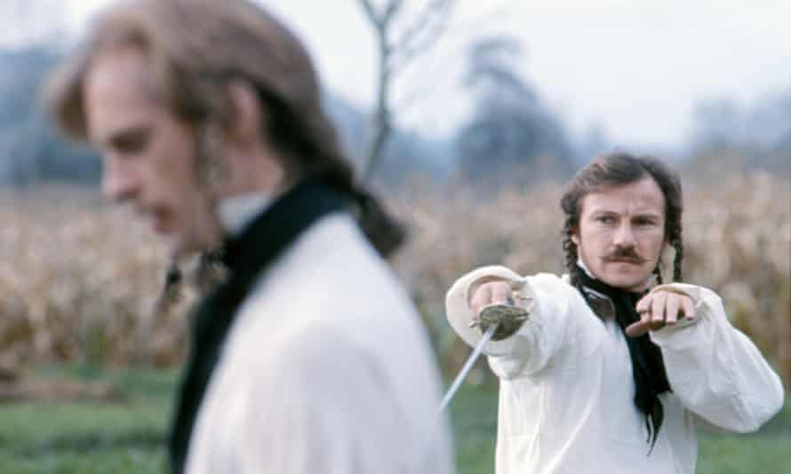 Keith Carradine and Harvey Keitel in The Duellists, directed by Ridley Scott.