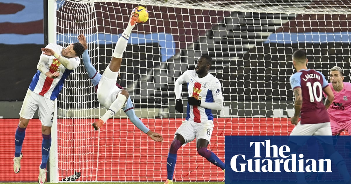 Sébastien Haller's stunning West Ham strike pegs back Crystal Palace