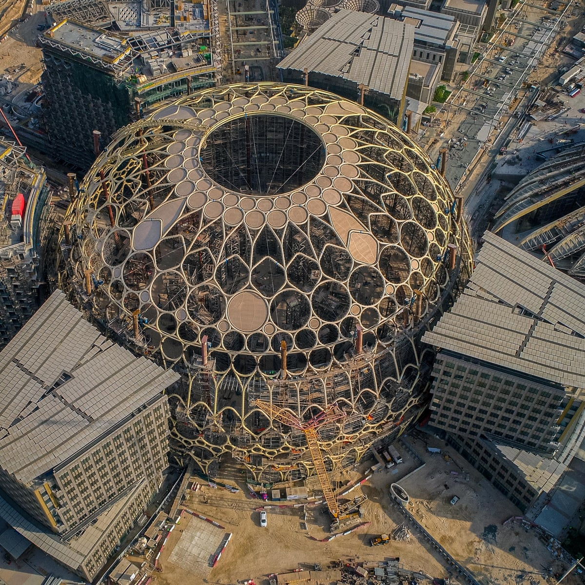 Workers At Dubai S Expo 2020 Likely To Have Suffered Dangerous Heat Stress Global Development The Guardian