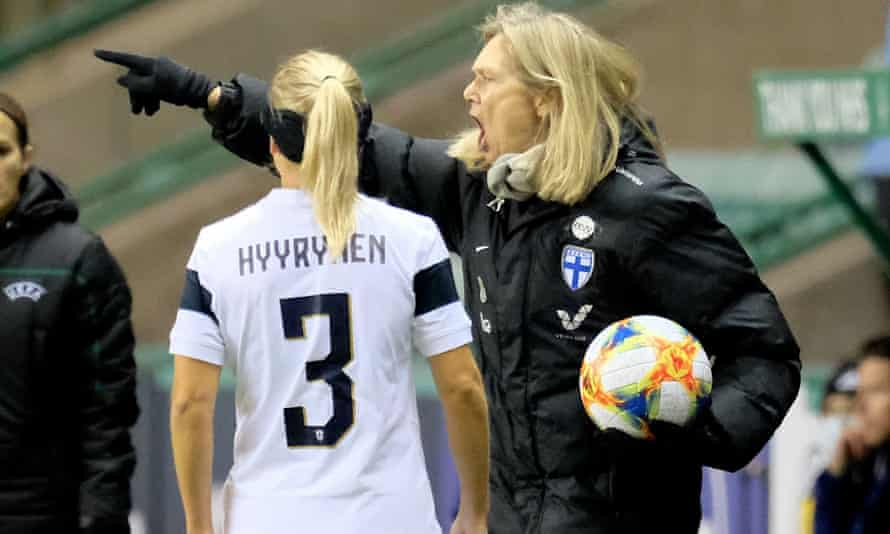Finland's Anna Signeul has coached over four decades