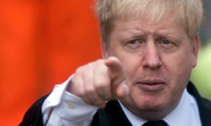 Boris Johnson: 'a shuffling, shabbily dressed fellow, with a sharp intellect, huge ambition, and a talent for constructing myths'.