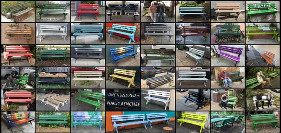 The Public Bench Project aims to give a bench to anybody in San Francisco who requests one.