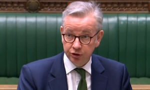 Michael Gove speaking in parliament