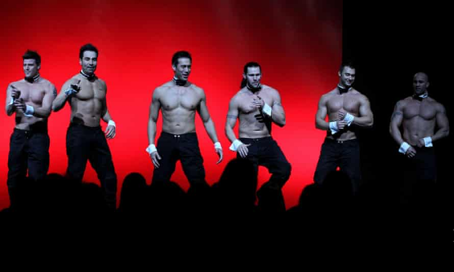 The story of the Chippendales makes for a 'brilliantly engaging' podcast.