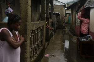 A slum in northern Haiti