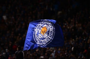 The flag is still flying for Leicester City.