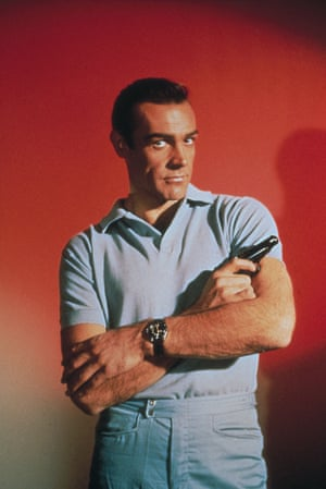 As James Bond for Dr No (1962).