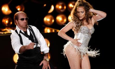 Jennifer Lopez and Tom Cruise dancing