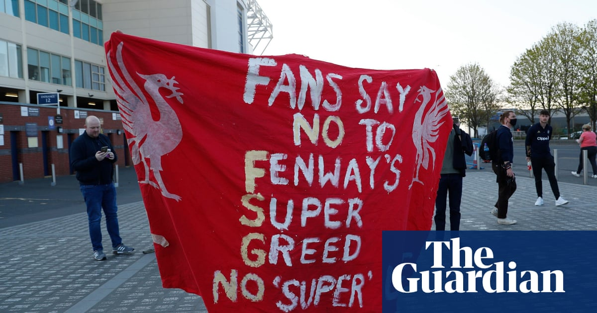 Liverpool to launch 'supporters board' in response to ESL protests