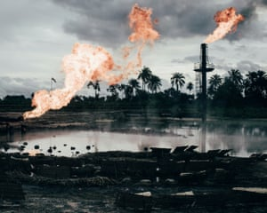 Environment finalist. More than 6,810 oil spills took place between 1976 and 2001 in Niger delta, amounting to 3m barrels, according to a UN report. So far, the Nigerian authorities and oil firms have done little to clean up the delta. Another issue is gas flaring, a byproduct of oil extraction which destroys crops, pollutes water and damages people's health