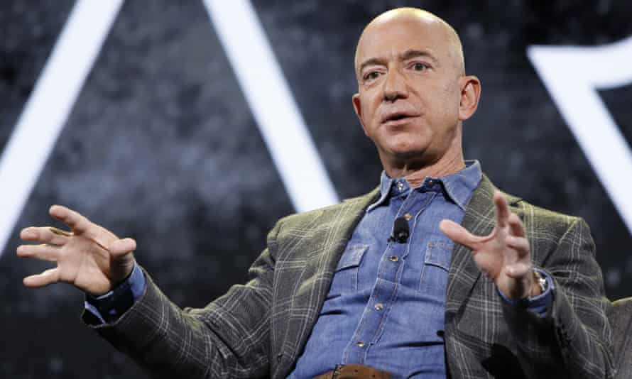 Jeff Bezos is scheduled to launch his rocket on July 20