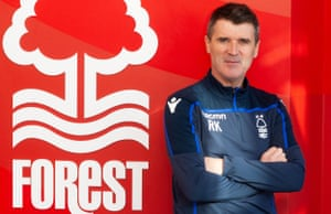 Roy Keane was announced as Nottingham Forest's assistant manager on 28 January 2019.