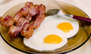 Fried Eggs and Bacon.