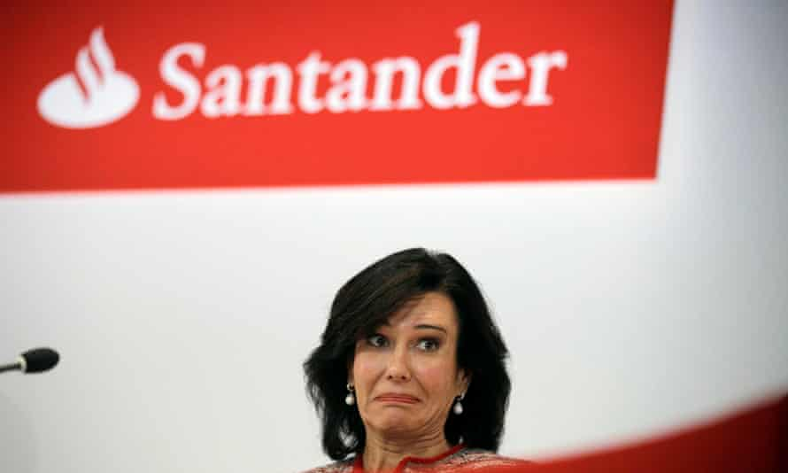 Ana Botín, chair of Banco Santander. The Botín family paid €200m in back taxes to the Spanish government to end a fraud investigation launched in 2011 after a previous leak of HSBC files.