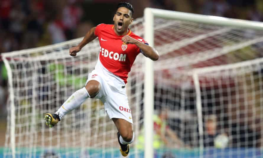 Falcao has been in tremendous form for Monaco this season, scoring 15 goals in 16 games.