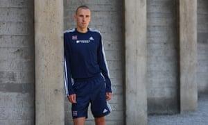 Andy Baddeley ahead of the Spar European Cup in June 2008