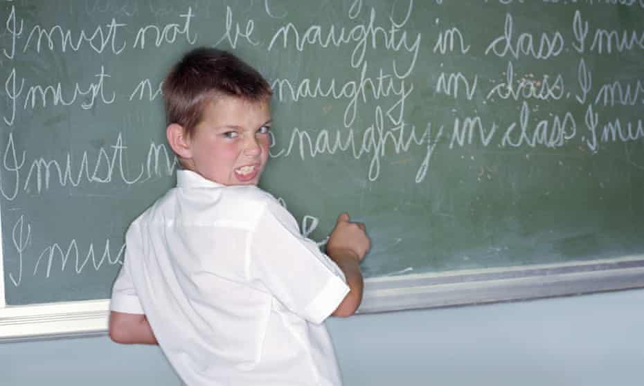 Schoolboy punishment: the sentence also stipulates the tweet must be sent during peak hours in Spain.