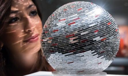 Mirror Ball by Monir Shahroudy Farmanfarmaian on display at Sotheby's in London last year.