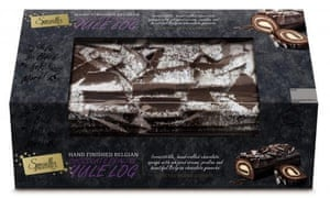 Aldi Specially Selected Chocolate Praline Yule Log