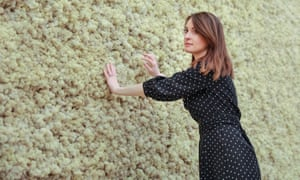 Eliasson's moss wall at Tate Modern.