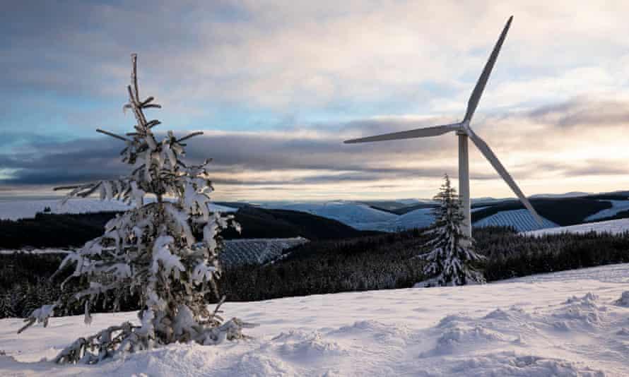 RWE Bowbeat windfarm.
