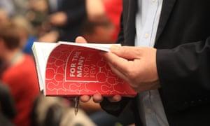 Labour's general election manifesto