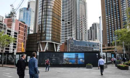 The One Circular Quay development, linked to the exiled billionaire Huang Xiangmo.