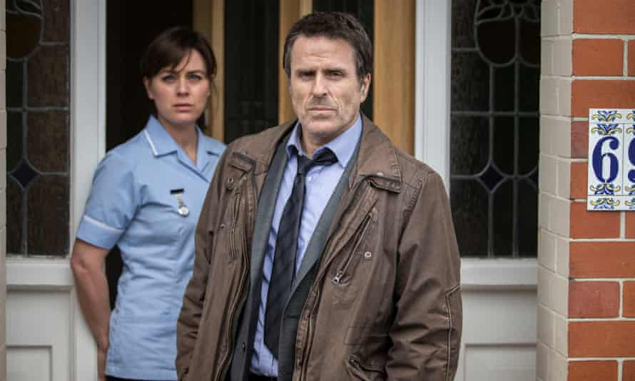 Home truths … Jill Halfpenny and Con O'Neill in Ordinary Lies